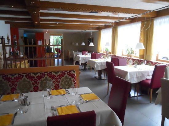Pension Moarhof: la sala da pranzo