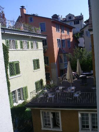 Hotel Rossli : wjue from room 31..
