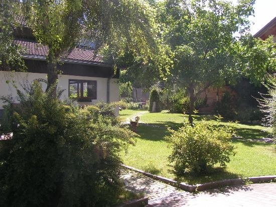 Pension Moarhof: il giardino