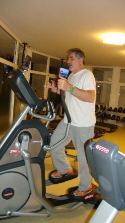 Punta Ballena, Uruguay: En el Gym, buenos aparatos y excelente asesoramiento en el uso