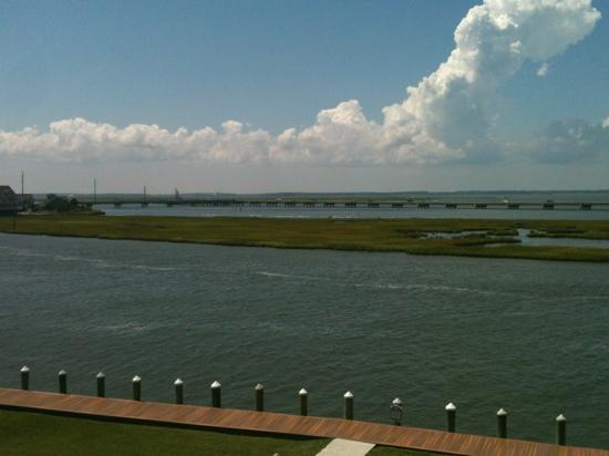 Comfort Suites Chincoteague: view from balcony of room 324