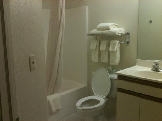 Candlewood Suites Detroit/Warren: bathroom
