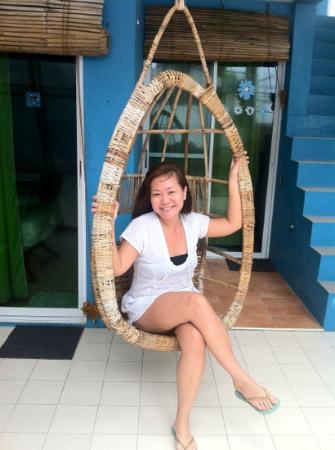 Blue Waves Beach House: happy me:)