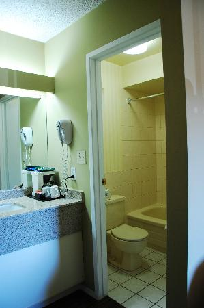 Comfort Inn and Suites North Vancouver: Sink and bathroom