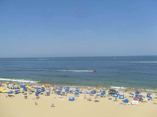 Holiday Inn Express Hotel & Suites Virginia Beach Oceanfront: View From Our Balcony
