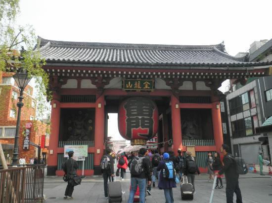 Nakamise Shopping Street (Kaminarimon): 雷門