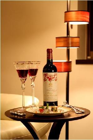 Hotel New Tanda: ホテルニュータンダ ロイヤルツイン ワイン