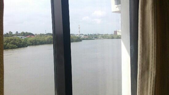 Riverside Inn: room view