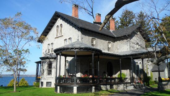 E.B. Morgan House: Amazing setting