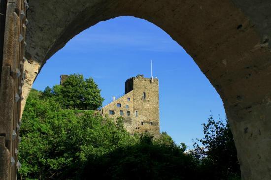 Hotel Burg Liebenstein: Blick auf Burg Liebenstein