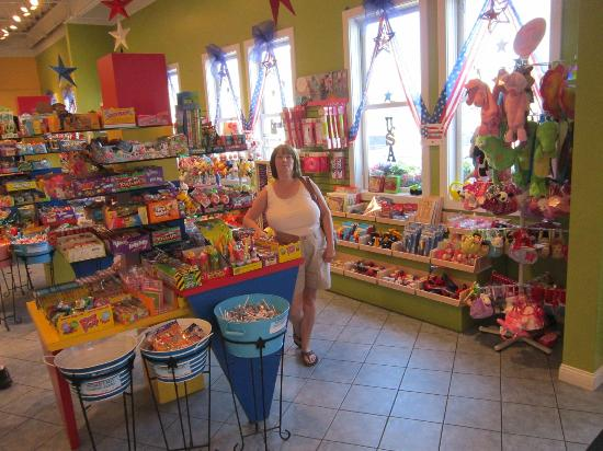 Merrillville, IN: Kid in a candy shop