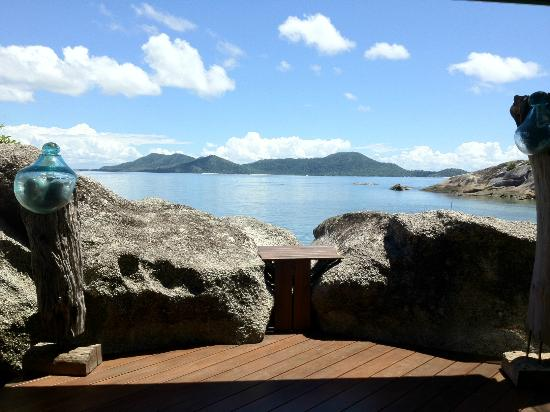 East Bedarra Island Retreat: Our view from the deck