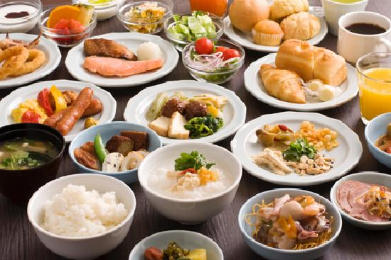Hotel Dormy Inn Nagasaki: ドーミーイン長崎 料理例