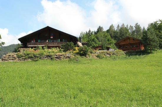 Silvi's Dream Catcher Inn Guesthouse : Silvi's BnB; main house on left and sauna on right