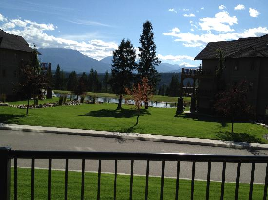 Bighorn Meadows Resort: View from our balcony - rm 714