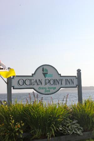 Ocean Point Inn and Resort: Front sign