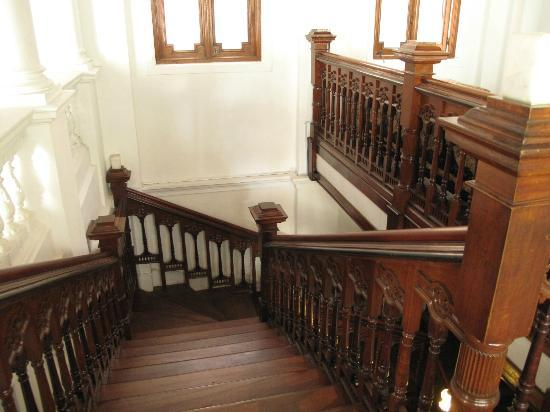 The Mansion: stairs
