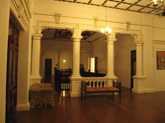 The Mansion: second floor