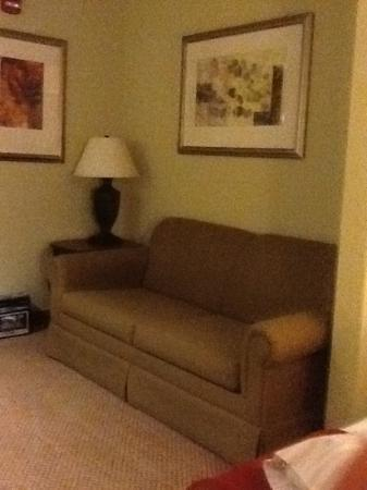 Holiday Inn Express & Suites Lucedale: Sleeper Sofa in Two Queen Suite