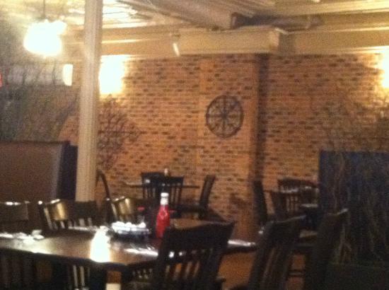 Inn at Jim Thorpe: Inside of the Restaurant 