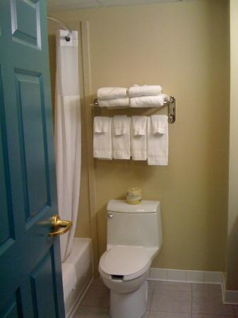 Country Inn & Suites By Carlson, Grand Rapids East: Bathrooms are always very clean.