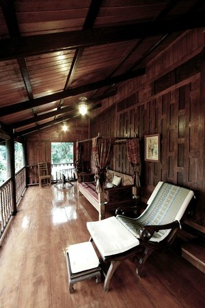 Dhabkwan Resort & Spa : Terrace