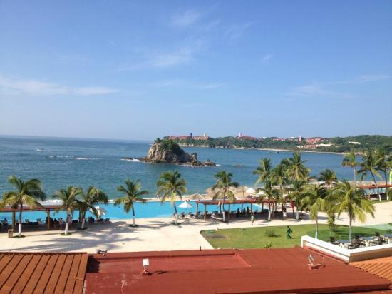 Dreams Huatulco Resort & Spa: Vista de nuestro cuarto