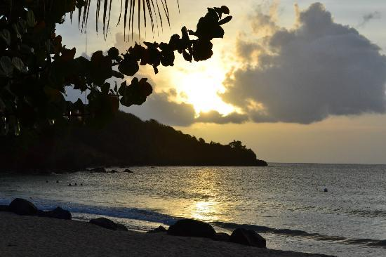 Mount Cinnamon Resort & Beach Club: Sunset at the beach