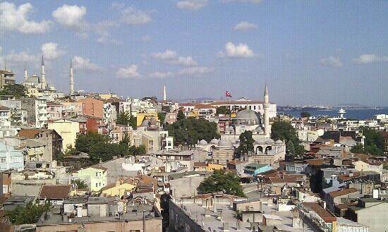 Grand Yavuz Hotel: Desde la sexta planta