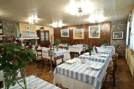 Albergo Trattoria Alle Castrette: Sala da pranzo