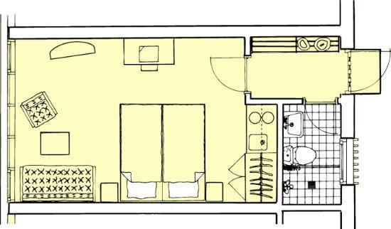 Hotel Abildgaard: Double room Type 1