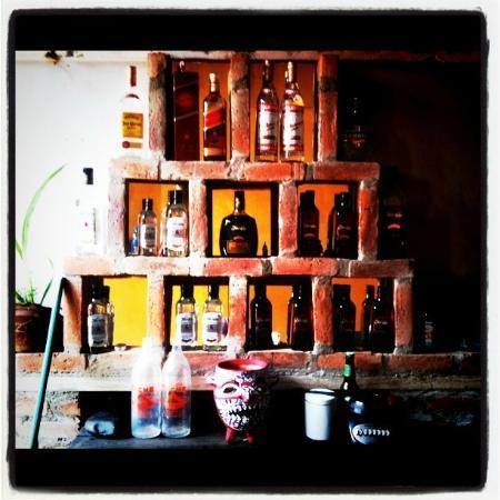 Antorchas bar and bocas : la barra
