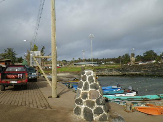 Tea Nui - Cabanas y Habitaciones: Hanga Roa town
