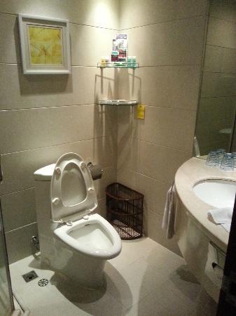 Zhong Tai Lai Hotel: toilet
