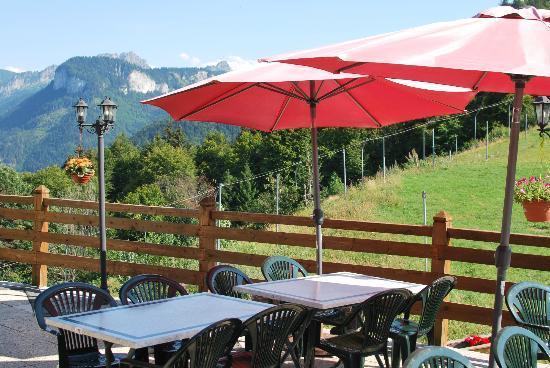 Le Panoramik: terrasse