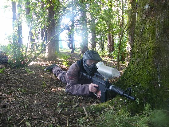Bedlam Paintball- Edzell