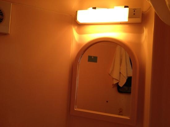 Oliver Plaza Hotel: luce bagno