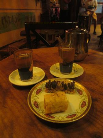 Salterio: Moroccan Mint Tea and Baklava