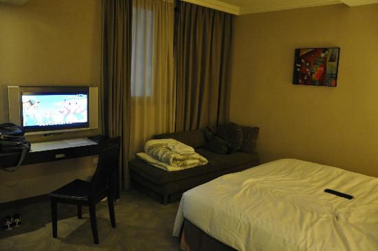 Wish Hotel: vip房只加一張梳化床