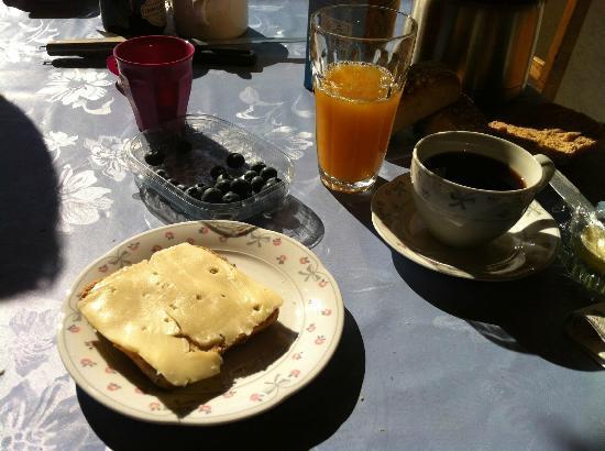 Barrit, Danmark: Lækker morgenmad :)
