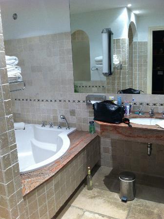 Hotel Alain Llorca: Bathroom