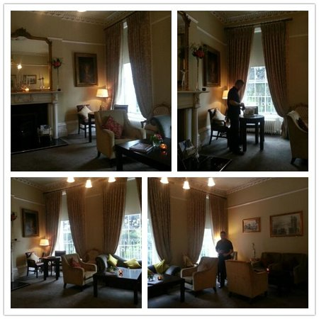 No. 1 Pery Square Hotel & Spa: The very lovely drawing room