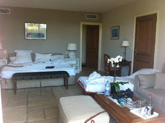 Hotel Alain Llorca : Monet room plus extra bed