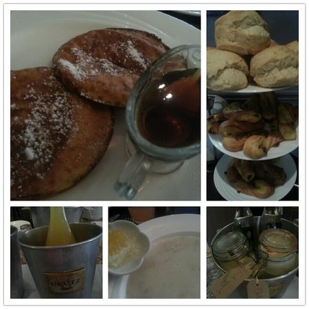 No. 1 Pery Square Hotel & Spa: breakfast in Brasserie One