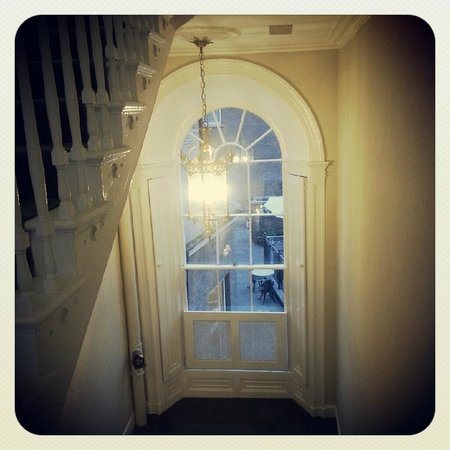 No. 1 Pery Square Hotel & Spa: up the stairs to the period rooms