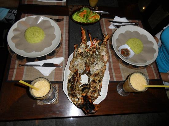 The Zala Villa Bali: LOBSTER IN VILLA ZALA