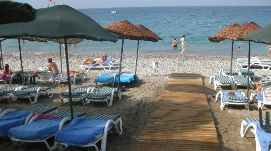 Meryan Hotel : Beach