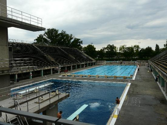 The Olympic Swimming Pool Picture Of Olympiastadion Berlin