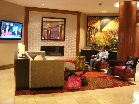 Fremont Marriott Silicon Valley: Waiting area