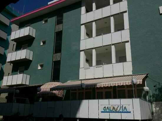 Hotel Galassia: Facciata hotel